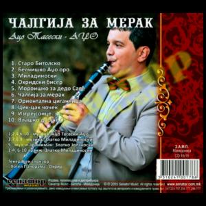 Aco Taseski Adzho – Chalgija za merak – Audio Album 2015 – Senator Music Bitola