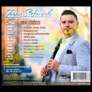 Zoran Stefanoski – Pochetok – Ora i Chocheci – Audio Album 2017 – Senator Music Bitola
