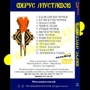 Ferus Mustafov KING – Ora i Chocheci – DVD Album 2005 – Senator Music Bitola