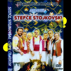 Ansambl Stefche Stojkovski – 10 godini zaedno so vas – DVD Album 2008 – Senator Music Bitola