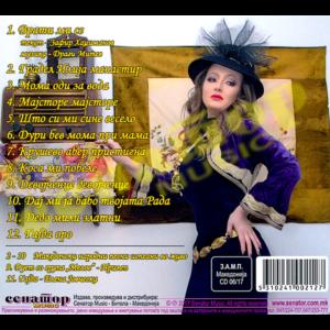 Elena Jovcheska – Vrati mi ja mladosta – Album 2017 – Double Box (CD/DVD) – Senator Music Bitola